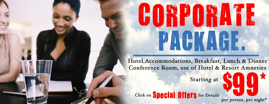 Corporate Meeting Special Offer Banner